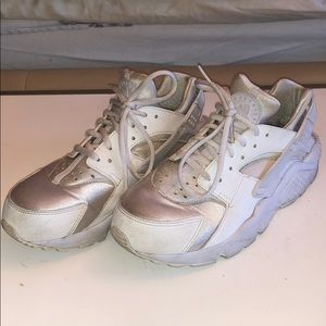 Nike White Huarache